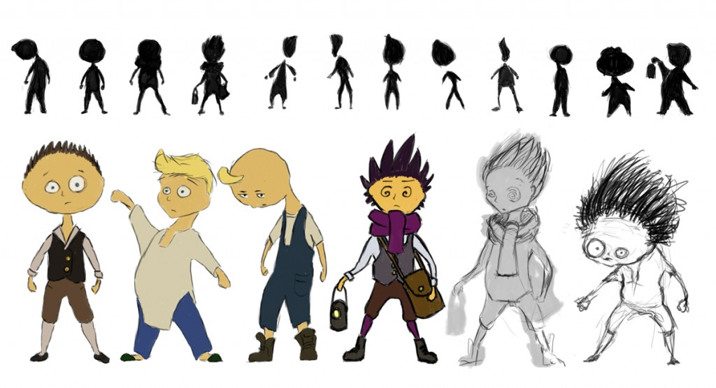 Character Design Little Boy : Character design the boy shadow puppeteer