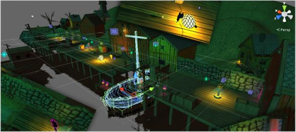 Creative workflow in game development