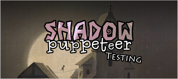 Shadow Puppeteer testing banner