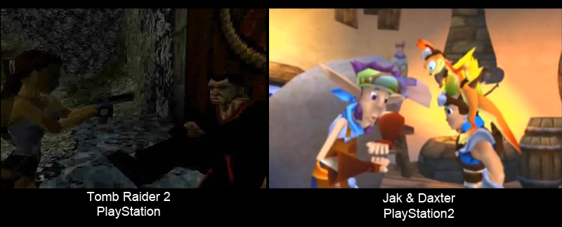 Lipsync comparison between PSone and PS2
