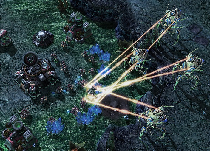 StarCraft-Screenshot