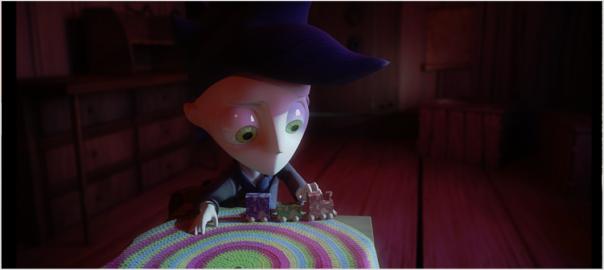 Screenshot Shadow Puppeteer intro cutscene toy train