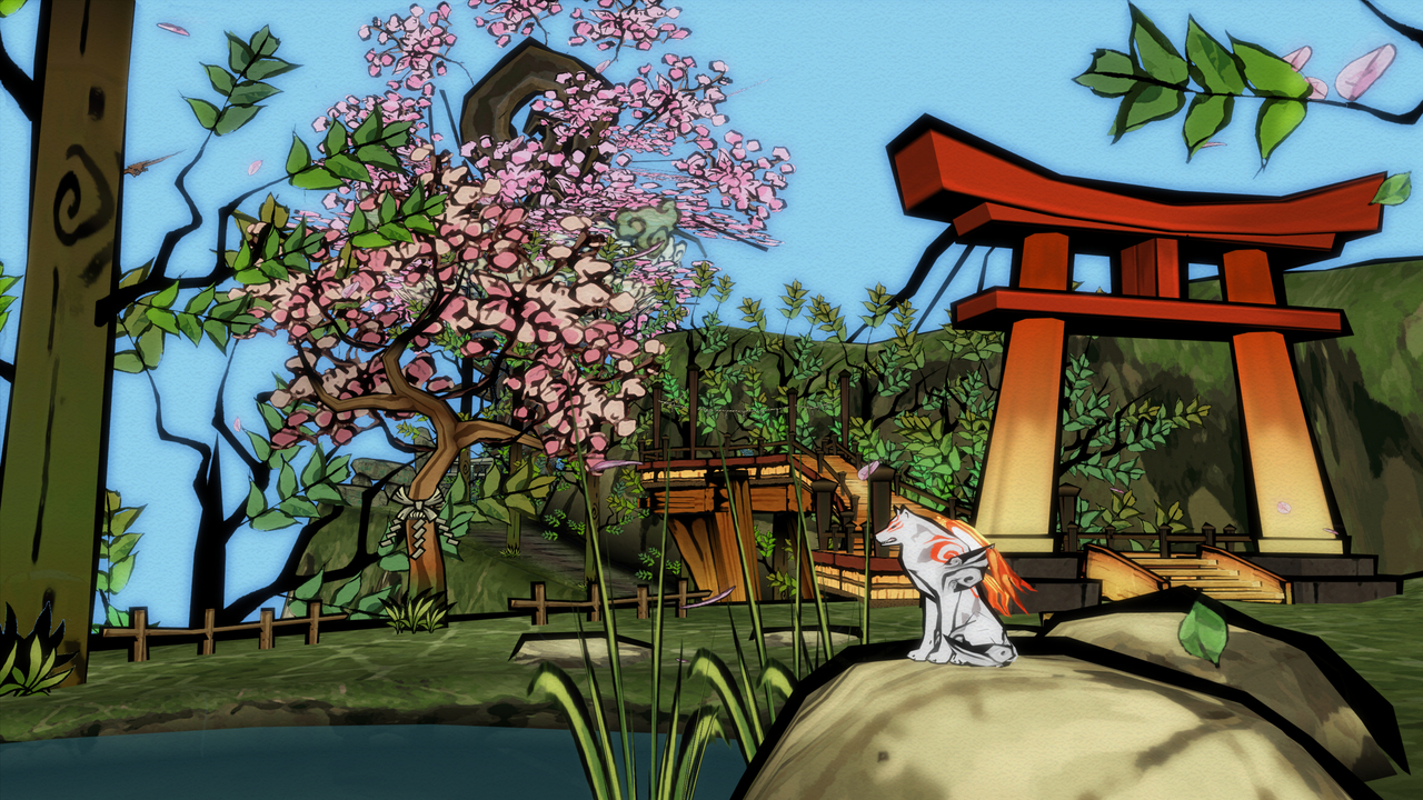 Favourite game: Okami - Shadow Puppeteer