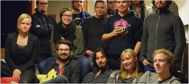 James Portnow visiting the Hamar Game Collective