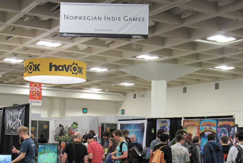 Norwegian game developers at GDC