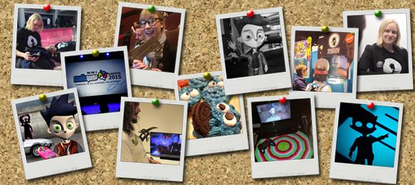 collage shadow puppeteer polaoid 2015 egx cupcakes sarepta studio awards