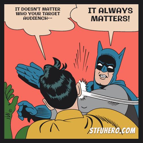 Batman meme stfu