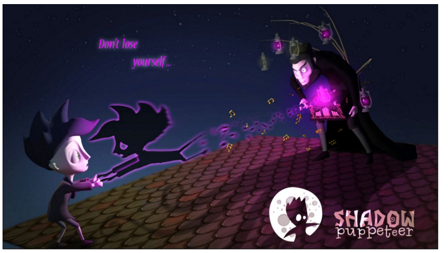 early promotional image shadow puppeteer don't lose yourself