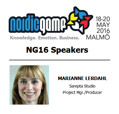 NG16, nordic game, speakers, marianne lerdahl
