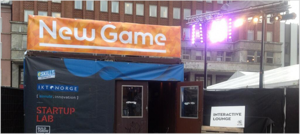 By:Larm interactive lounge, eskills, ikt norge, simula, startup lab, buuild 2 grow