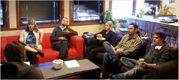 Shadow Puppeteer team meetings
