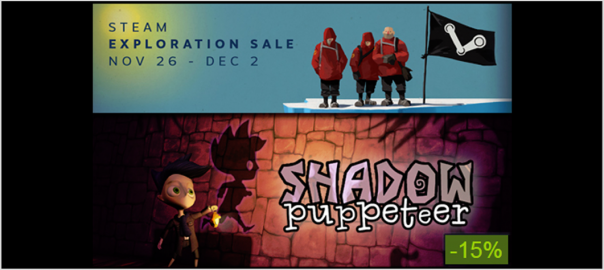 Shadow Puppeteer steam exploration sale 2014