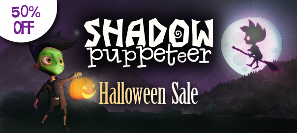 shadow puppeteer halloween sale